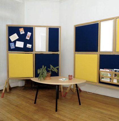 Aménagement et mobilier d'une association