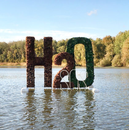 Structure flottante H2O