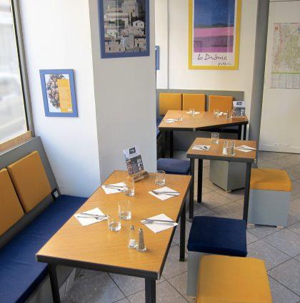Aménagement et mobilier de restaurant