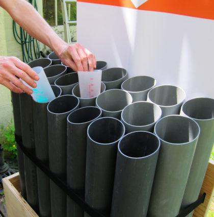Mobilier de collecte de gobelets